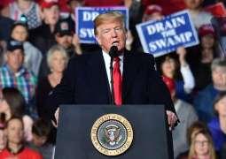 US President Donald Trump  praises congressman who assaulted reporter