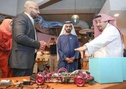 محمد بن راشد يزور مؤسسة مسك الخيرية ويطلع على مبادراتها ومشاريعها