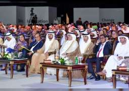 مكتوم بن محمد يشهد انطلاق فعاليات الدورة الخامسة للقمة العالمية للاقتصاد الأخضر 2018