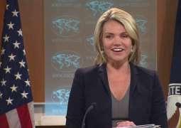 Pompeo, UN Chief Discuss North Korea, Syria - US State Department