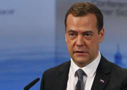 Russia's Medvedev to Visit China on November 5-7, Discuss Bilateral Cooperation -Statement