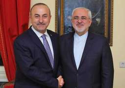 Iranian, Turkish Foreign Ministers Discuss Cooperation, International Issues - Statement
