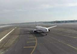 First Commercial Flight From New Istanbul Airport Arrives in Ankara - Reports