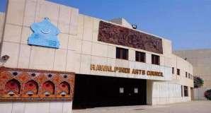 Stage play Manji Kithey Dawan presented at Rawalpindi Arts Council