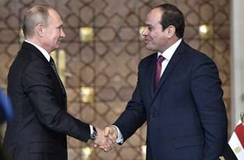 Putin to Have Informal Dinner With Egyptian Counterpart on Tuesday in Sochi - Peskov