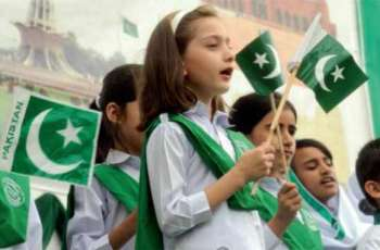 A dominant majority of Pakistanis (85%) think that schools and colleges should organize events regarding Independence Day to create awareness amongst children