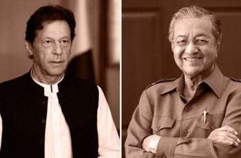 Imran Khan for stronger bilateral ties with Malaysia; telephones Mahathir Mohamad