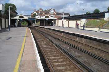 Motorcyclist killed after being hit by train