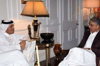 رئيس أركان الجيش الباكستاني يلتقي نائب رئيس الوزراء القطري
