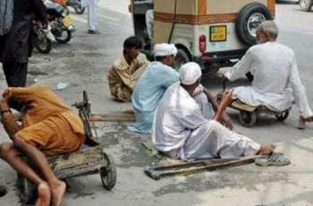 12 professional beggars arrested in Rawalpindi