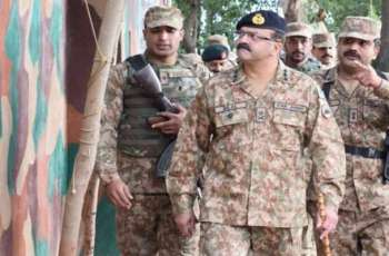 Corps Commander Rawalpindi visits troops at Siachin, Minimerg