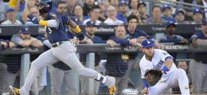 Brewers regain series lead with 4-0 win over Dodgers