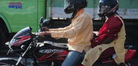 Helmet now compulsory for all passengers on motorcycle