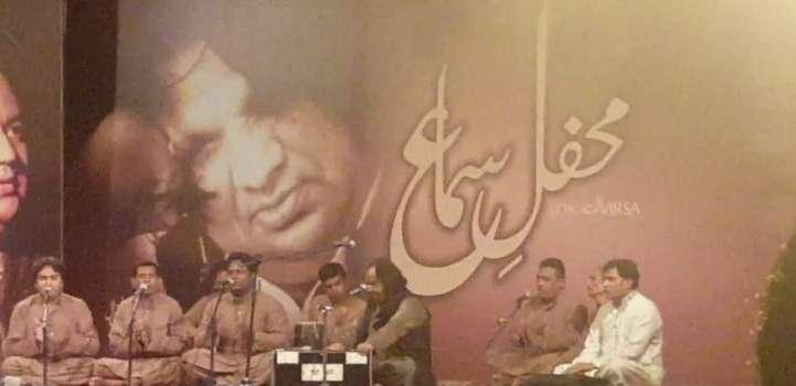 'Mehfil Samaa' a traditional Qawwali evening held at Lok Virsa