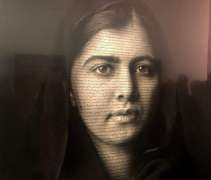 Malala Yousafzai's portrait unveiled at London's National Portrait Gallery