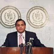 وزارة الخارجية الباكستانية :باكستان تدين المحاولات الهندية لقمع الكشميريين