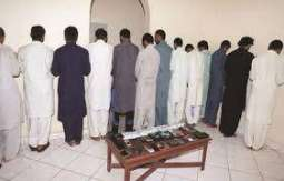 اعتقلت شرطة 14 باکستانیا في الجدة الذین یتھمون بالجرائم من الخدعة و غیرھا