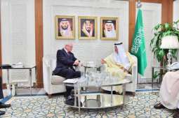 وزير الخارجية يستقبل مبعوث الولايات المتحدة الأمريكية إلى سوريا