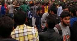 Kashmir University students express solidarity with Aligarh Muslim University Kashmiri students