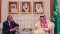 وزير الخارجية السعودي يبحث مع مسؤول روسي الوضع فى سوريا