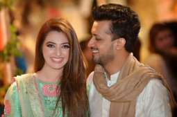 Atif Aslam gives couple goals as he admires wife on her birthday