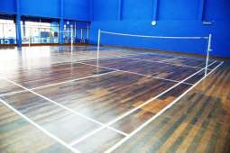 National Bank of Pakistan president inaugurates Badminton Court, indoor games