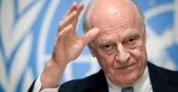 UN Syria Envoy visits Damascus