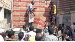 ERC distributes food aid in Tarim, Yemen