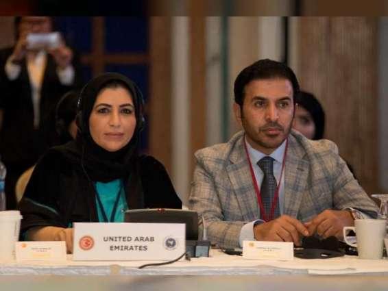 الشعبة البرلمانية الإماراتية تستعرض جهود الدولة في دعم وتمكين المرأة