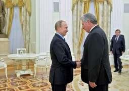 Cuban President Miguel Diaz-Canel Bermudez Invites Putin to Visit Republic in 2019