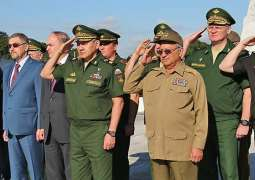 Russia, Cuba Defense Ministers to Discuss Future Cooperation Areas in November - Official