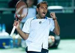 Aqeel Khan clinch men's singles tennis title