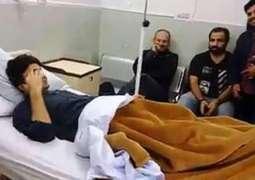 وزیر مملکت مراد سعید زخمی ، پولی کلینک ہسپتال منتقل