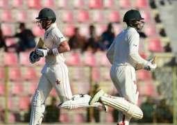 Williams, Masakadza rule even day in 1st Bangladesh Test