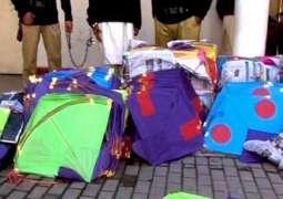 Three held for kite flying in Sialkot