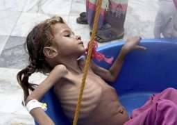 Yemen war a 'living hell' for children, warn UNICEF; Angelina Jolie pushes for ceasefire