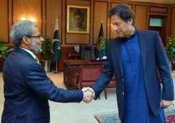 وزیر اعظم عمران خان دی یمنی سفیر نال ملاقات