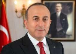 Cavusoglu Attends Inauguration Ceremony of Turkish Embassy in Laos