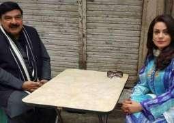 شیخ رشید نے انٹرویو مگروں مشہور اداکارہ دانمبر کیوں منگیا؟