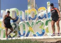 Dubai Fitness Challenge athlete reaches halfway point in challenge to run 30 marathons in 30 days