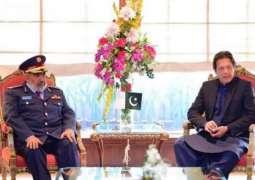 وزیراعظم عمران خان نال قطر ی فوج دے چیف آف سٹاف دی ملاقات