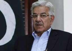 ڈونلڈ ٹرمپ دا پاکستان خلاف بیان:خواجا آصف ولوں ٹرمپ نوں مونہ توڑ جواب