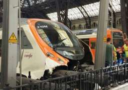 Train Accident in Catalonia Caused by Landslide - Railway Operator