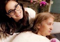 Saba Qamar wishes speedy recovery for mother