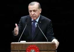 Erdogan Urges Muslims to Visit Jerusalem to Support Palestinians Amid Gaza Tensions