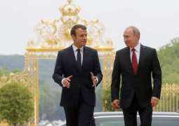 Russian President Vladimir Putin and his French counterpart Emmanuel Macron will discuss the situation in Syria,