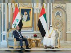 Abu Dhabi CP, Iraq President review ties, discuss regional developments