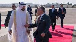Mohamed bin Zayed, King of Jordan discuss ties, regional developments