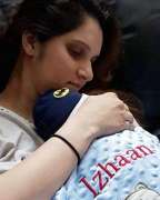 Mommy moments: Sania Mirza shares an adorable picture with baby Izhaan