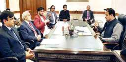 Chairman PCB calls on Punjab Chief Minister Sardar Usman Buzdar
